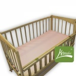 Комплект постельного белья в детскую кроватку, ранфос-розовый