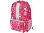 Рюкзак подростковый Simple PINK BUTTERFLY