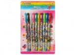 Ручки гелевые 10 цветов