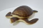 Черепаха резиновая с пищалкой