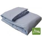 Комплект одеяло + подушка, шерсть (голубой)