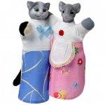 Набор для кукольного театра Кот и Мышка