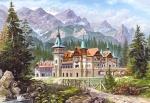 "Касторленд пазлы ""Картина - Замок в горах"""