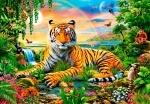 "Касторленд пазлы ""Король джунглей"""