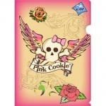 "Папка-уголок А4 ""Pink Cookie"""