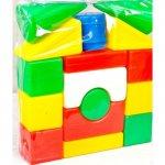 Конструктор с блоками Городок малый