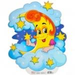 Плакат з вирубкою. Місяць (Укр)