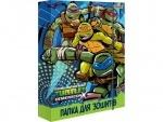 """Папка для тетрадей картонная В5 """"Ninja Turtles"""""""