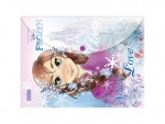 "Папка-конверт на кнопке А4 ""Frozen"""