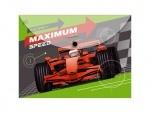 """Папка-конверт на кнопке А4 """"Maximum speed"""""""