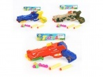 Пистолет игрушечный, пули-присоски, шарики