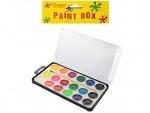 Краски акварельные с кисточкой, 18 цветов