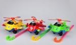 Каталка игрушечная вертолет, на палочке