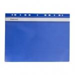 Папка-скоросшиватель синяя А4