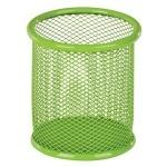 Металлическая подставка-стаканчик для ручек ZiBi Круглая Зеленая
