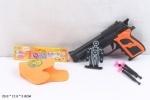 Пистолет игрушечный с присосками