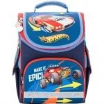 Рюкзак школьный каркасный (ранец) 501 Hot Wheels-1
