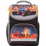 Рюкзак школьный каркасный (ранец) 701 Monster Truck