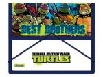 """Папка для тетрадей на резинке В5 """"Ninja Turtles"""""""
