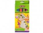 "Набор цветных карандашей 12 цветов ""LOWER"""