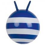 """Мяч-попрыгун """"Полосатый"""", 50 см, синий"""