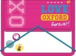"""Папка для тетрадей на резинке В5 """"Oxford"""" розовый"""