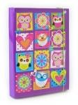 """Папка для тетрадей картонная В5 """"Owl"""""""