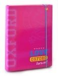 """Папка для тетрадей картонная В5 """"Oxford """" розовая"""
