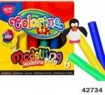 """Набор массы для лепки """"Colorino"""" 6 цветов"""