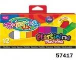 Набор цветного пластилина, квадратный