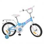 """Велосипед детский 16"""" Original girl, голубой"""