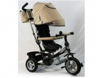 Велосипед детский 3-х колесный TURBOTRIKE, бежевый