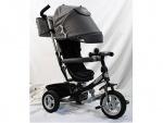 Велосипед детский 3-х колесный, серый