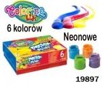 Краски гуашевые Colorino Неон 6 цветов