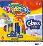 Клей для стекла, 6 цветов