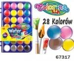 """Краски акварельные """"big"""", 28 цветов"""