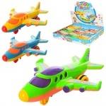Самолет игрушечный инерционный