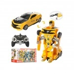 Трансформер игрушечный на р/у Робот + машина