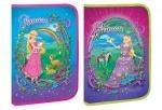 """Папка А4 """"Princess world"""", на молнии"""