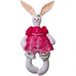 """Мягкая шарнирная игрушка подружка """"Кролик Розочка"""""""