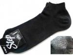 Носки спорт черные стрейч-сетка р.27-29 (42-46) короткие