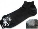 Носки спорт черные стрейч-сетка р.25-27 (39-42) короткие
