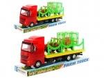 Трейлер игрушечный + трактор с прицепоп