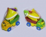 Машина для песка Смайлик + набор