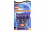 Ручка Cello Maxriter, красная, фиолетовая (упак)