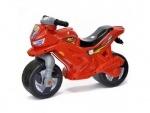 Детский мотоцикл-каталка музыкальный Красный