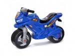 Детский мотоцикл-каталка музыкальный Синий