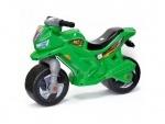 Детский мотоцикл-каталка музыкальный Зеленый