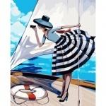 Творчество: Картина по номерам - Прогулка на яхте