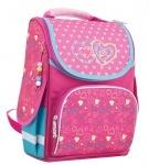 Рюкзак каркасный для девочки PG-11 2 hearts